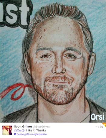 Scott Grimes by Orsi